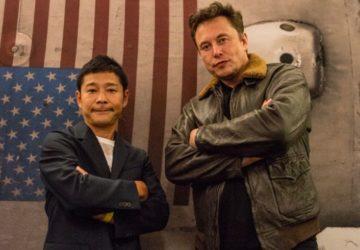 Yusaku Maezawa, SpaceX