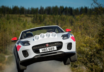 Jaguar ralli sınıfı F-Type