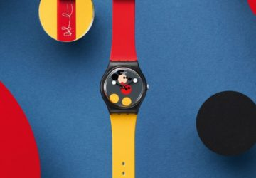 Swatch x Damien Hirst Mickey Mouse saati