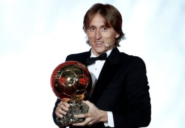 Ballon d'Or Ödülü Luka Modric