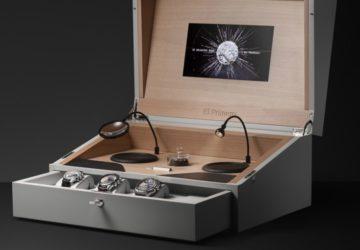 Zenith El Primero 50. yıl dönümü kutu seti
