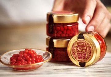 Heinz Ketchup Caviar, Heinz ketçap havyarı