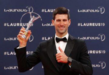 2019 Laureus Dünya Spor Ödülleri Novak Djokovic