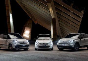 Fiat 500 120th, Fiat 500X 120th, Fiat 500L 120th