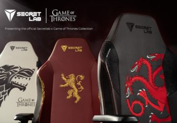 Secretlab Game of Thrones oyun koltukları
