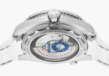 Omega Seamaster Planet Ocean 2020 Tokyo Olympics Edition