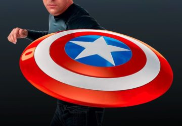 Marvel 80th Anniversary Classic Captain America Shield