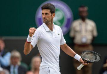 Novak Djokovic Wimbledon Tenis Turnuvası