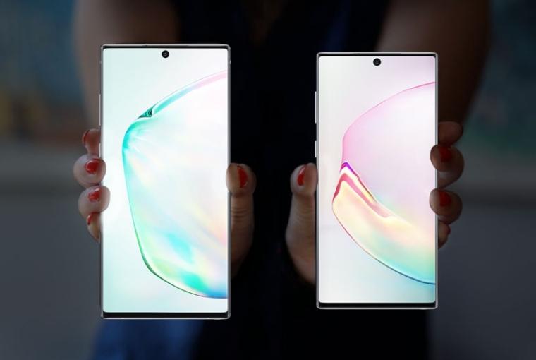 Galaxy Note 10, Galaxy Note 10+