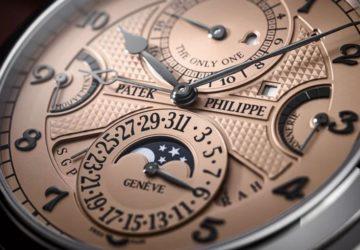 dünyanın en pahalı saati Patek Philippe Grandmaster Chime
