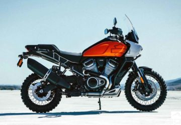 Harley Davidson Pan America Adventure Motorcycle