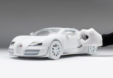 Bugatti Veyron Grand Sport Vitesse 1:8 model