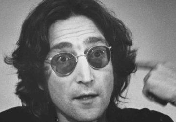 John Lennon güneş gözlüğü
