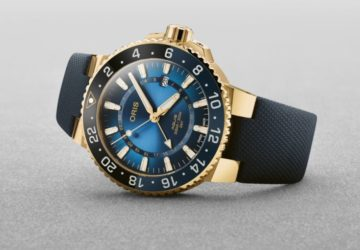 Oris Aquis Carysfort Reef Gold Limited Edition