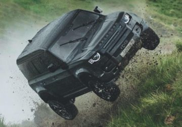 2020 Land Rover Defender No Time to Die