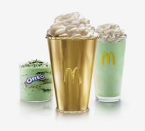 McDonald's Golden Shamrock Shake
