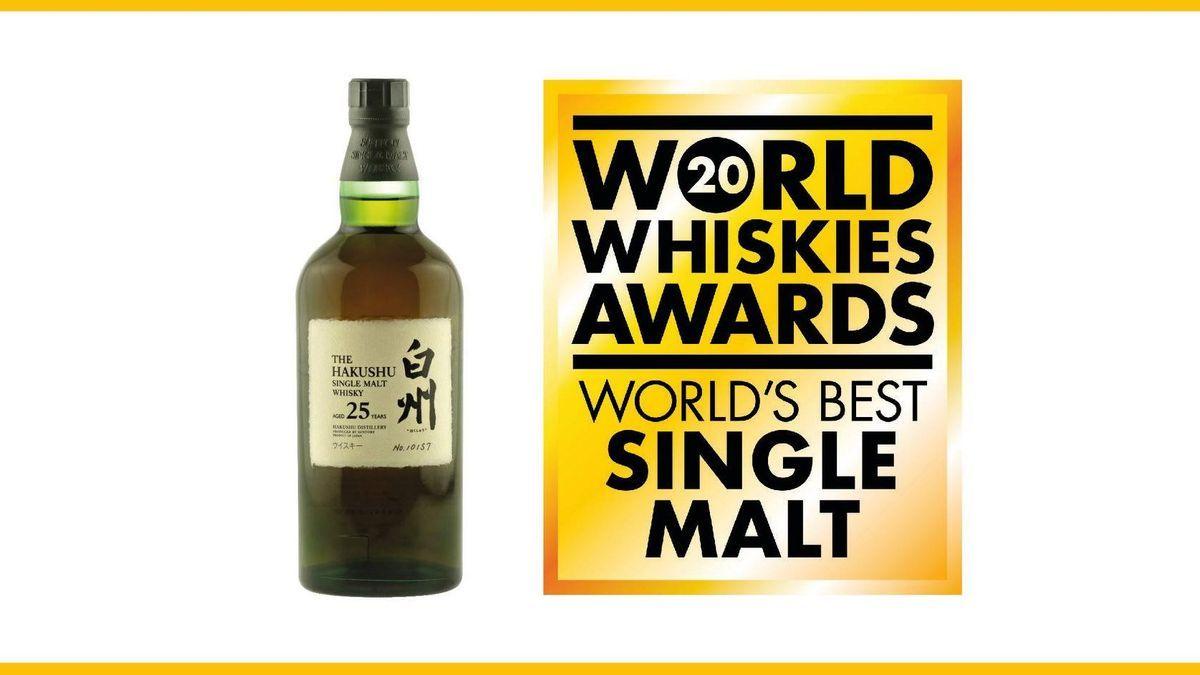 World Whisky Awards 2020 Hakushu 25 Years Old