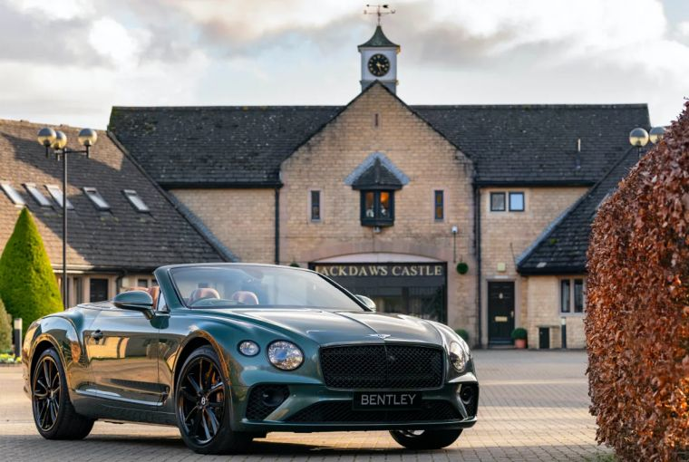 Bentley Continental GTC Equestrian Edition