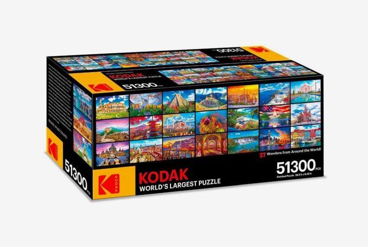 Kodak en büyük puzzle yapboz