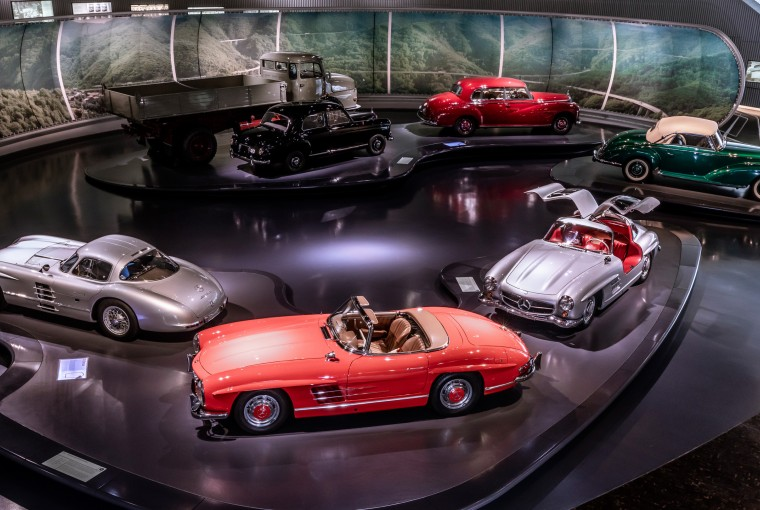 Mercedes-Benz Müzesi sanal tur