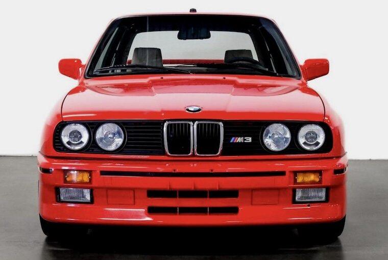 Paul Walker BMW M3 E30