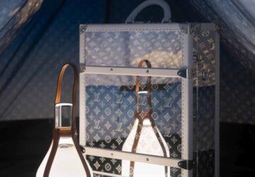 Louis Vuitton Monogram Cloud & Monogram Mirror Trunk Backpack