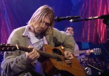 Kurt Cobain MTV Unplugged gitar