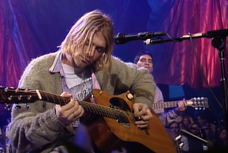 Kurt Cobain MTV Unplugged gitar