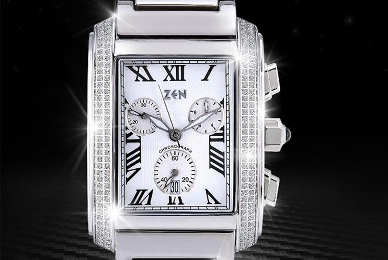 Zen Pırlantalı Saat