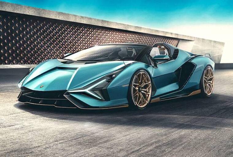 2021 Lamborghini Sián Roadster