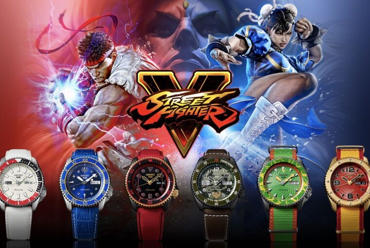 Seiko 5 Sports Street Fighter V