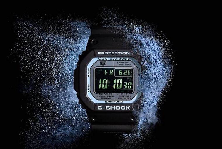 G-SHOCK x Bamford London 5610