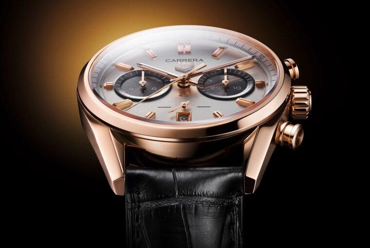 Tag Heuer Carrera Chronograph Gold Jack Heuer's Birthday