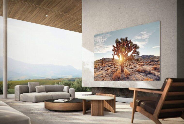 Samsung 110 inç MicroLED TV