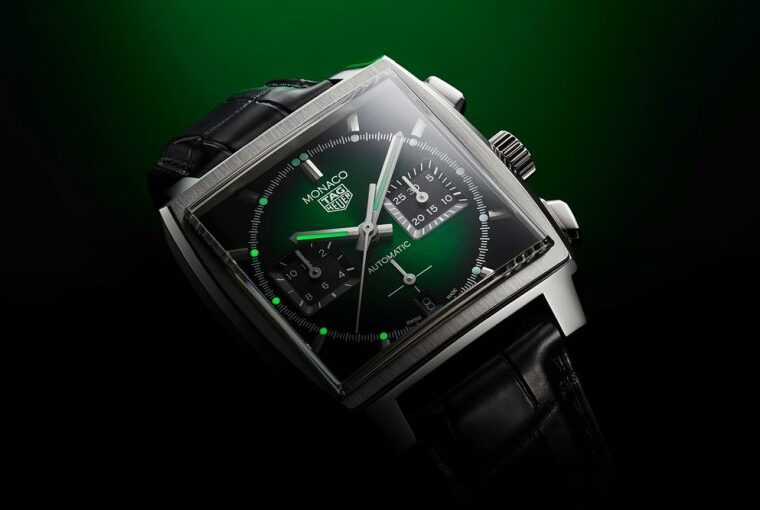Tag Heuer Monaco Green Dial Limited Edition