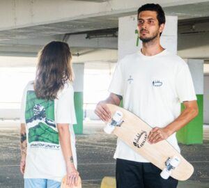 Les Benjamins x Ala Skateboards